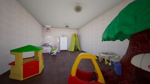 little girl bed room - Kids room  - by Maryann CLOY lover