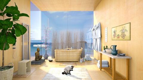 A Japanese inspired bathroom - Bathroom  - by RHD