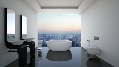 NY Bathroom - Modern - Bathroom  - by deleted_1487928695_athenast