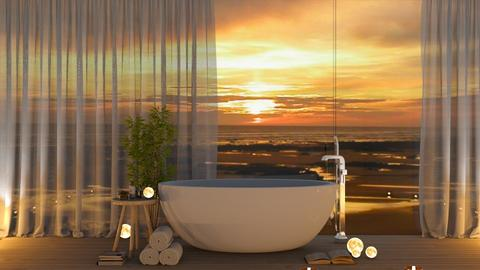 refresh - Bathroom  - by Thepanneledroom