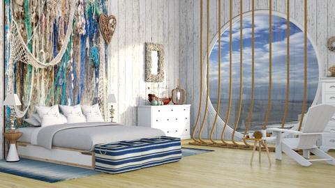 Cape cove bedroom - Eclectic - Bedroom  - by kitty