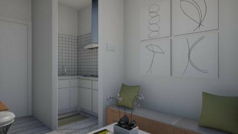 NakagiCapsuleRoom001 - Modern - Living room  - by Ivana J