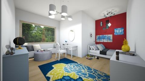 Red Rum - Bedroom - by AppleSpongeCake