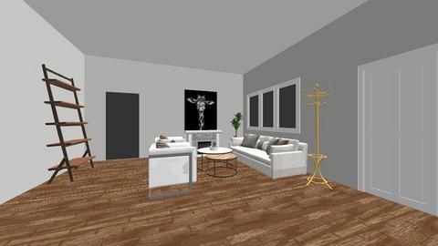 living room 2 - Modern - Living room  - by Estefany Garcia