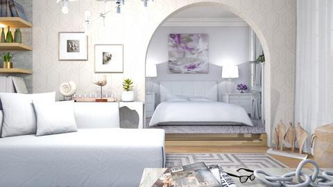 M_ White - Living room  - by milyca8