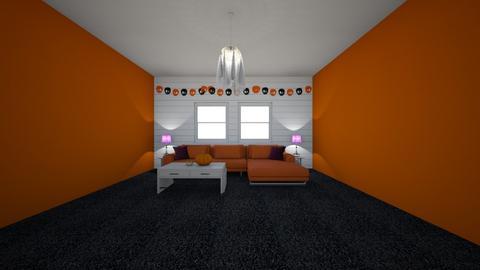 Halloween room - by Olivia Grothaus