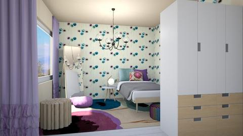 Lilac - Bedroom - by chania