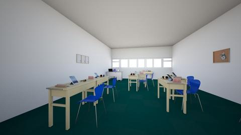 Hallfield school classroo - Office  - by Ibrahim Rahman101010