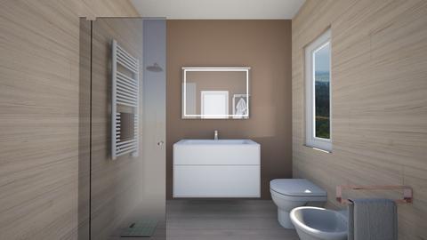 Bagno ipotesi 1b - Bathroom - by natanibelung