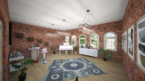 Dream room - Rustic - Living room - by neleli