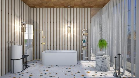 Modern Retro Splashroom - Modern - Bathroom  - by 3rdfloor
