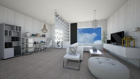 Simple  - Living room - by Aliiix