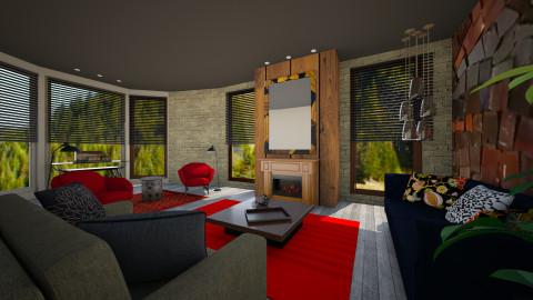relook DMlights livng - Eclectic - Living room - by doudou