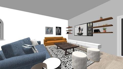 Zuzu - Living room  - by zuzdymo