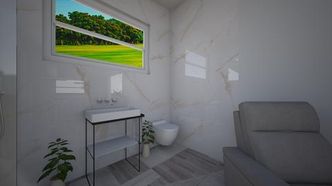 Tiny house pool house 16 - Bathroom  - by joannaowen