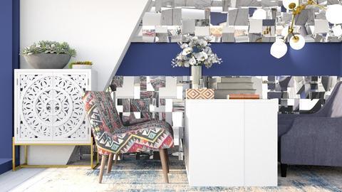 blue office - Office  - by nihalruttala