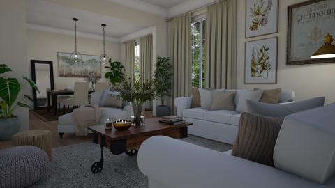 Cosy - Living room  - by Tuija