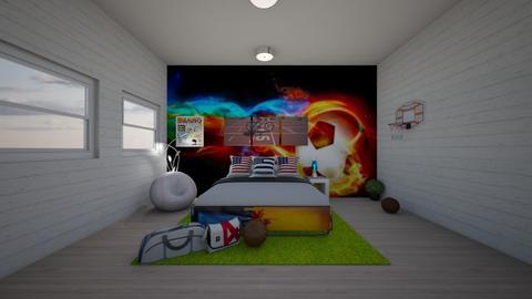 sport - Bedroom  - by SkyRacer