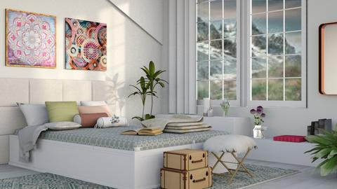 Spring Themed - Modern - Bedroom  - by millerfam