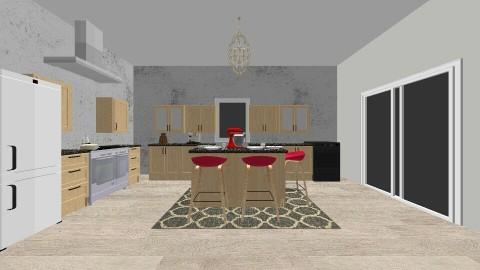 family kitchen - by muellerbri