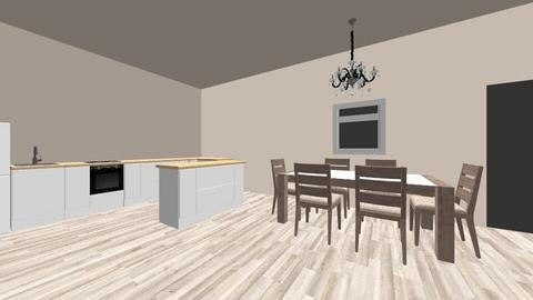 Dinning area - Dining room - by IAMDANOOB