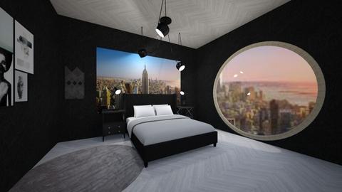 nyc dream - Bedroom - by kiki1209