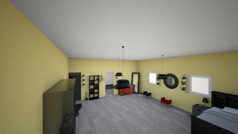 my teenager room - Retro - Bedroom  - by ella reyntjens