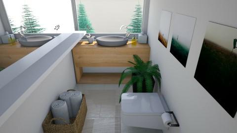 Guest Bathroom 2 - Minimal - Bathroom  - by daniellelouw