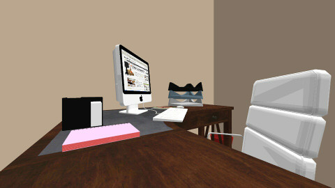random room - Office - by Clodia Kareen