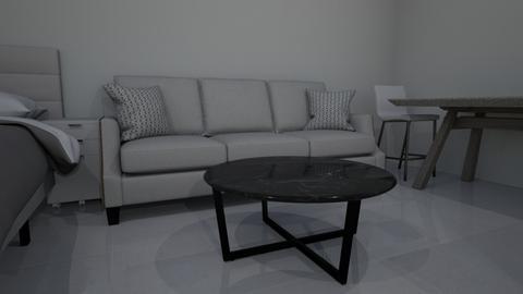 pieza - Modern - Bedroom  - by hellpoem