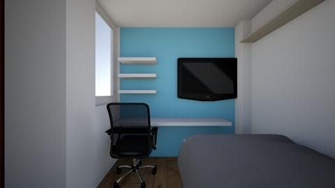 small room f  - Modern - by katylismo