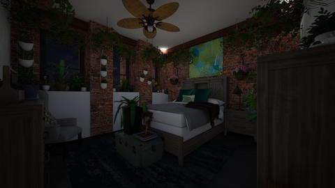 Eden in the City Night 5 - Bedroom  - by SammyJPili