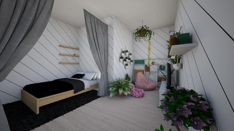 Tiny Plant Room - Bedroom  - by Iris_the_kilr0787