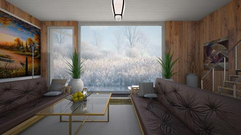 Fog and Mist - Country - Living room - by Sue Bonstra