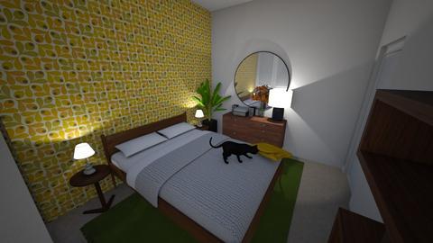 Linden Ave Bedroom - Modern - Bedroom  - by erinmclaughlin
