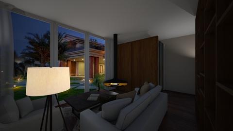 TV Room - Living room  - by katarinalaaksonen
