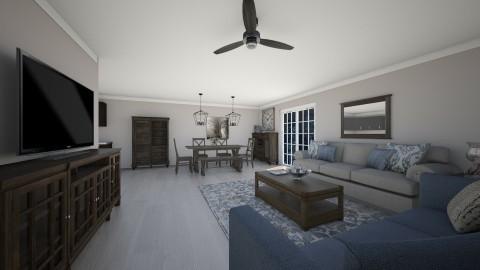 Living room - Classic - Living room  - by Malwalker02