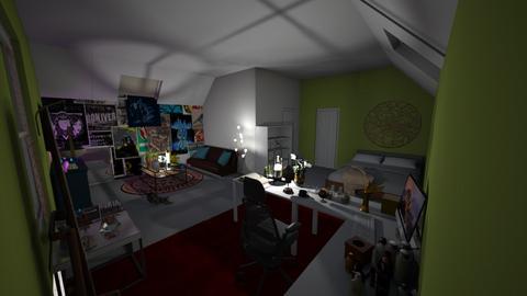 Sierra - Bedroom - by BeckAsHeck