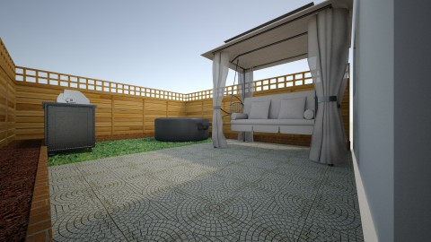 Backyard - Modern - Garden  - by Joy Mk