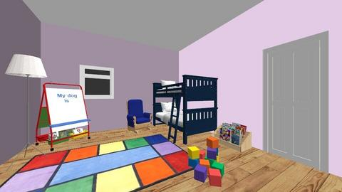 kids bedroom - Bedroom - by IAMDANOOB
