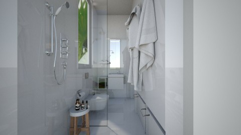 Casa150Bathroom - Eclectic - Bathroom  - by nickynunes