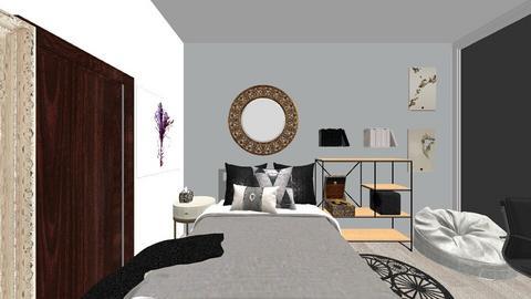 cuarto soledad 2 - Modern - Bedroom  - by renn_gcs