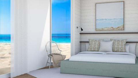 Summer beach - Bedroom  - by yellowAri