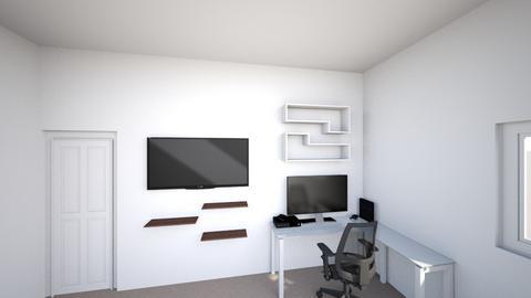 Blake S Dream Room Layout - Modern - Bedroom  - by blakeschenkelberg