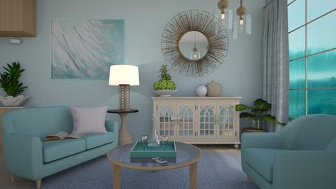 Blurry - Living room  - by milyca8