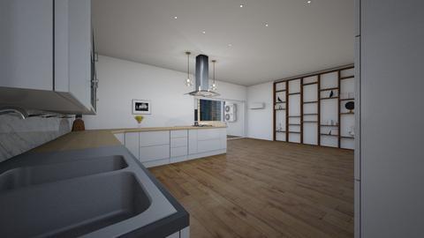 Leicht Modern 2021 view 3 - Modern - Kitchen  - by Lorenzo Finazzi