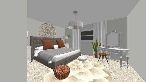 pouthavong_Masterbedroom2 - Eclectic - by romacandy