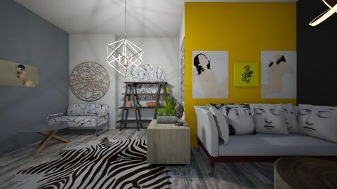 ziggy - Living room - by iampebbles