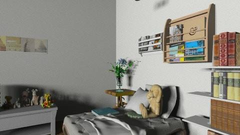 the reader - Modern - Bedroom - by Siska Natalya