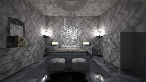 5 Star Hotel Room - Glamour - Bedroom  - by bryangra000